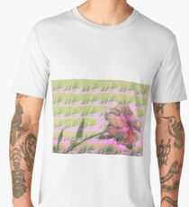 A Blushing Rose  Men's Premium T-Shirt