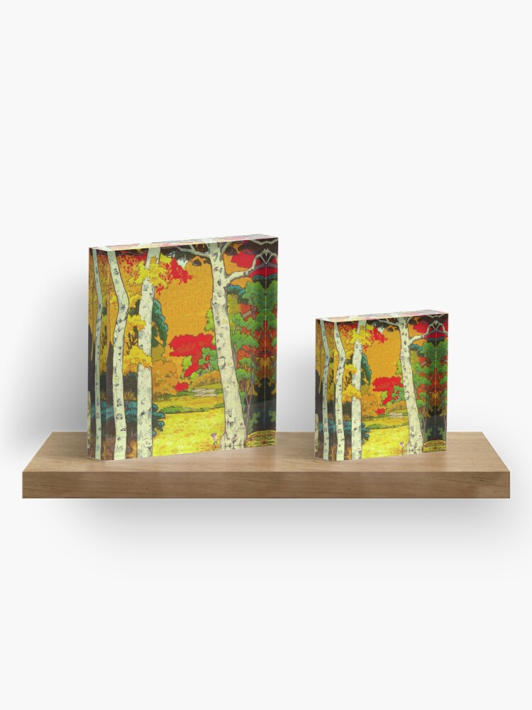 Alternate view of Home at Syin Acrylic Block