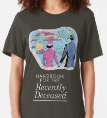 Handbook for the Recently Deceased - Dark Slim Fit T-Shirt