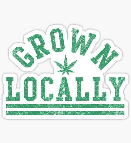 Grown Locally Sticker