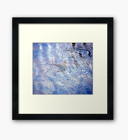 Watermark #3 Framed Print