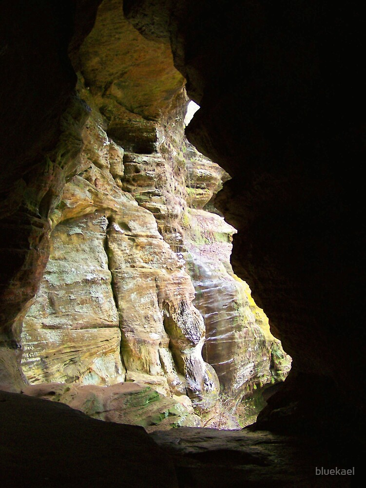 tunnel by bluekael