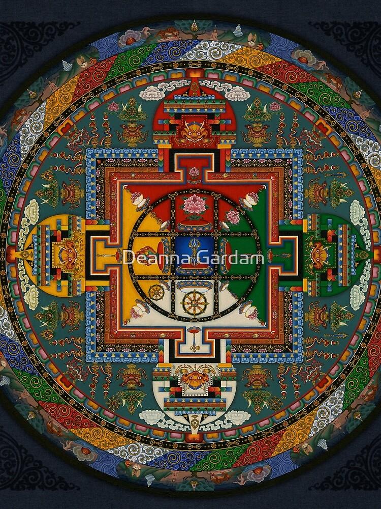 Mandala von Yamantaka von Anatman