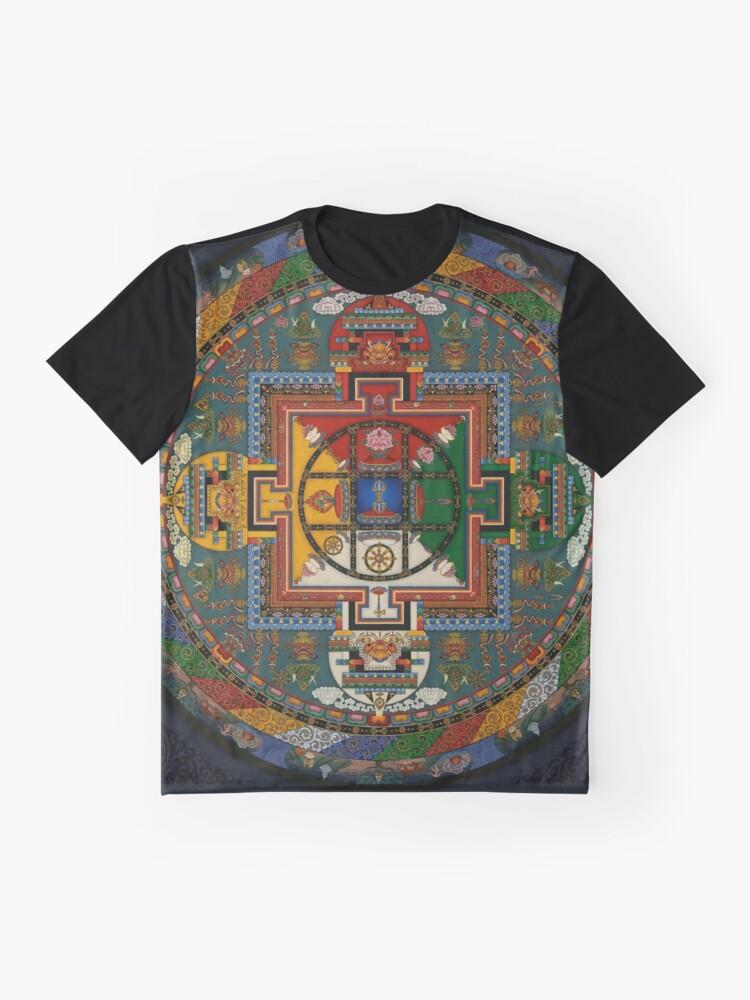 Alternative Ansicht von Mandala von Yamantaka Grafik T-Shirt