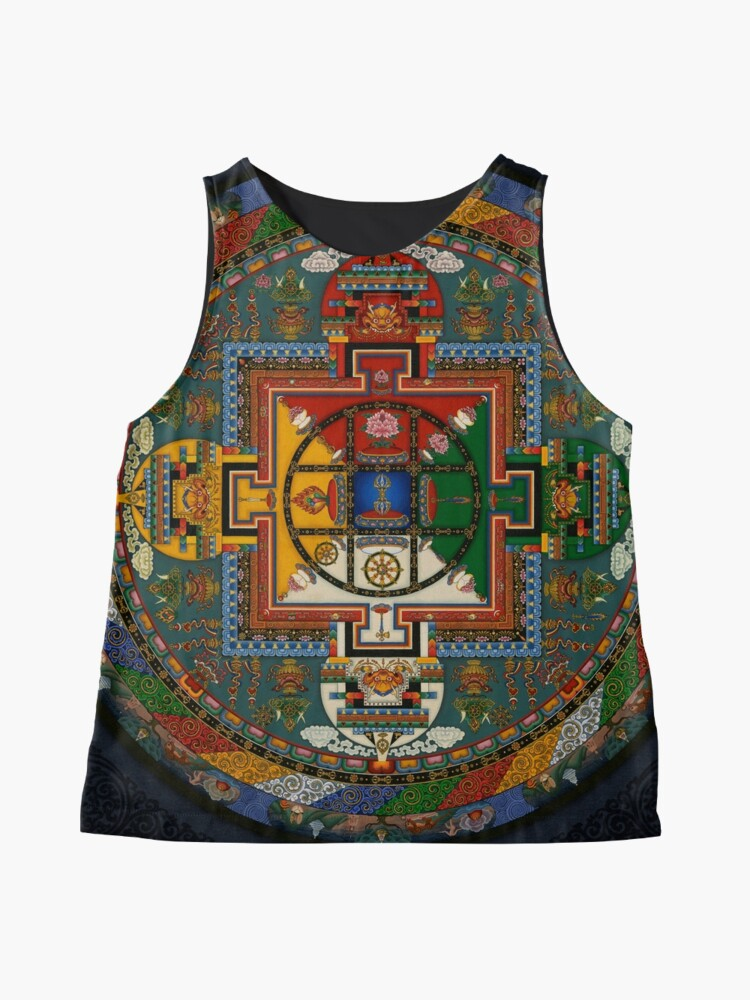 Alternative Ansicht von Mandala von Yamantaka Ärmelloses Top