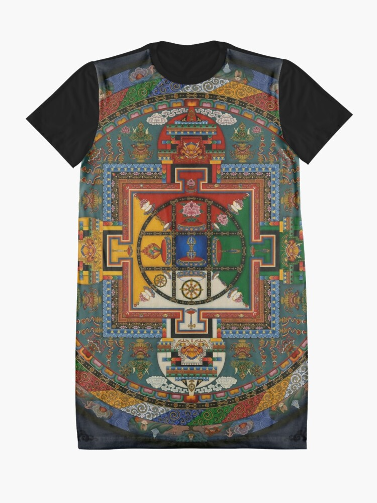 Alternative Ansicht von Mandala von Yamantaka T-Shirt Kleid