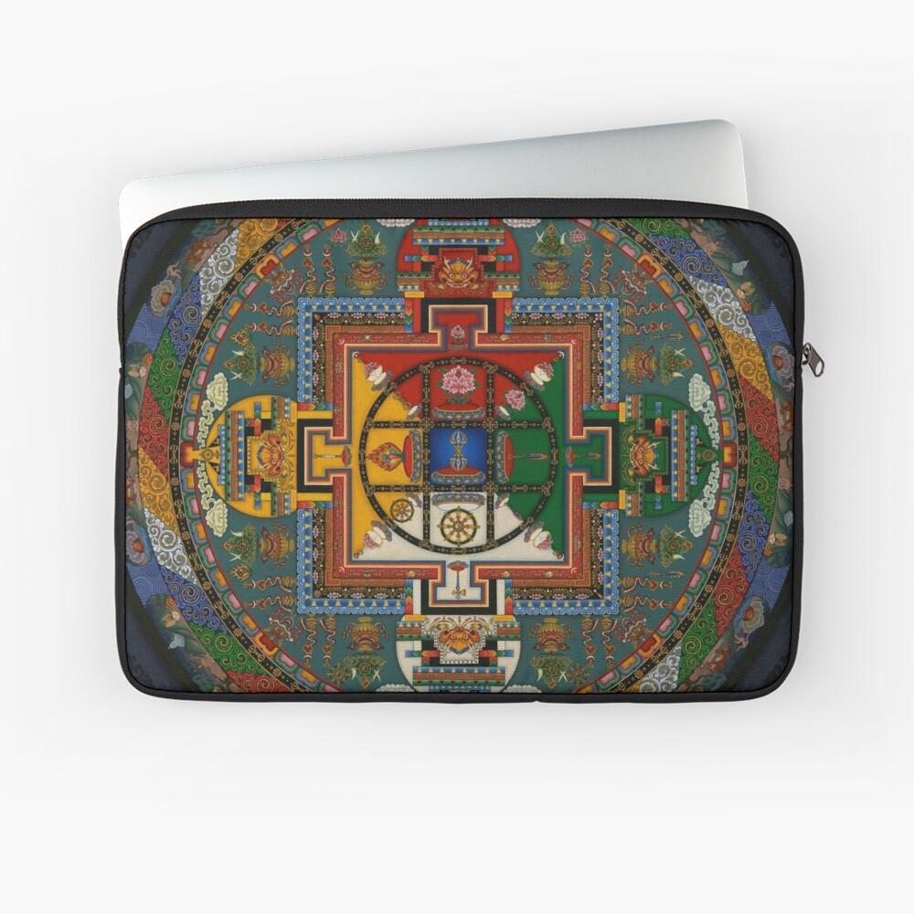 Mandala von Yamantaka Laptoptasche