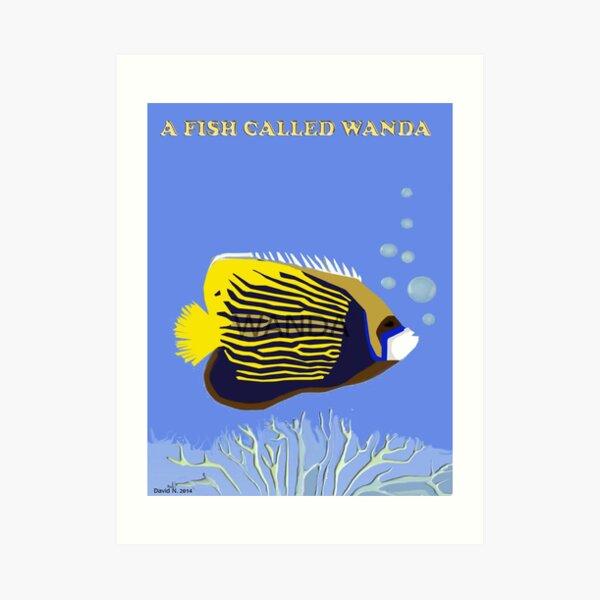 A Fish Called Wanda Art Print