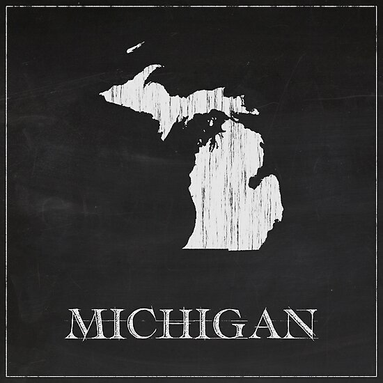 Michigan - Chalk by FinlayMcNevin