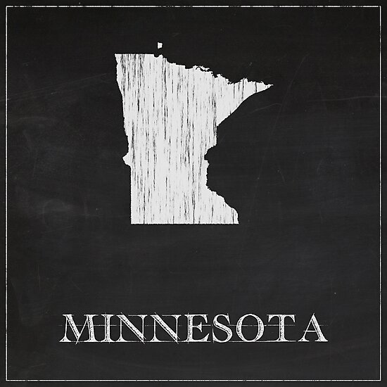 Minnesota - Chalk by FinlayMcNevin