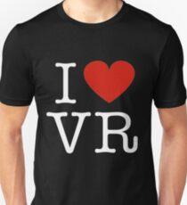 I love VR Unisex T-Shirt
