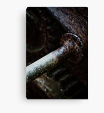 The Workings Canvas Print