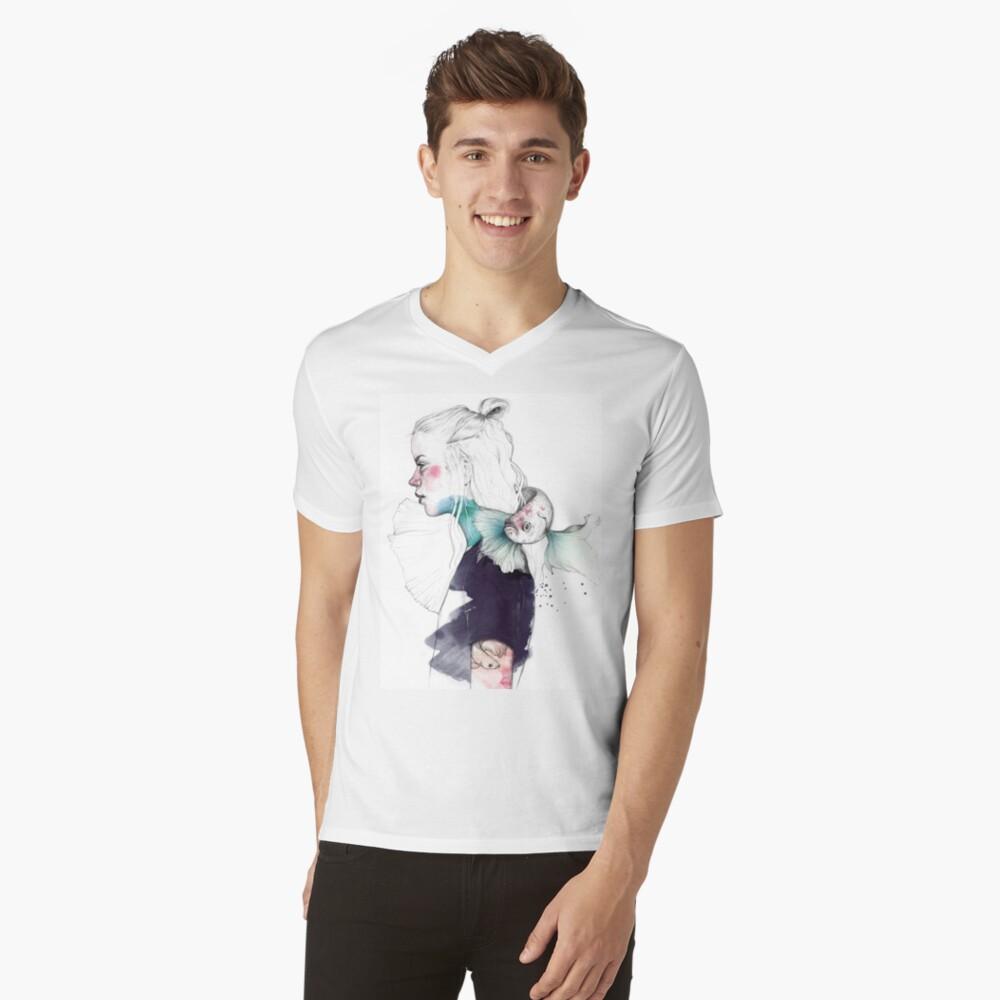 BETTA Camiseta de cuello en V