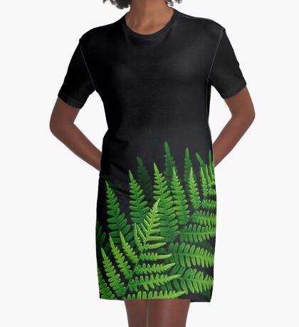 fantastic fern fronds Graphic T-Shirt Dress