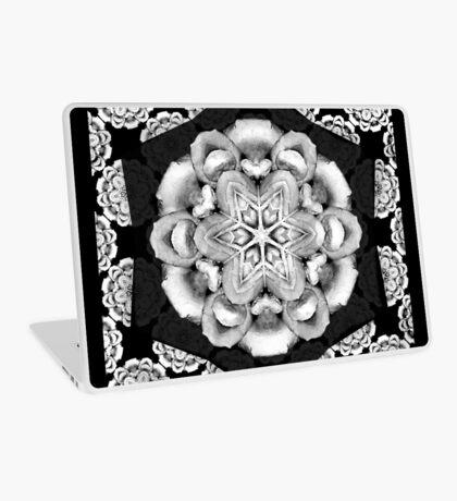 old fashioned lace pattern  Laptop Skin