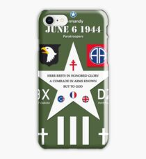 D Day WW2 Memorial Decoration iPhone Case/Skin