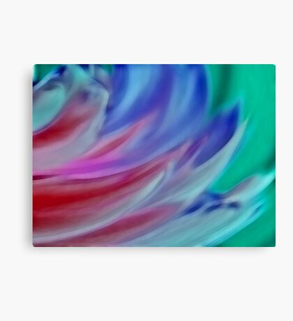 Wings of Colour Canvas Print