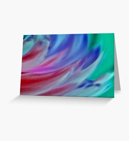 Wings of Colour Greeting Card