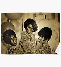 The Supremes in 1967 Poster