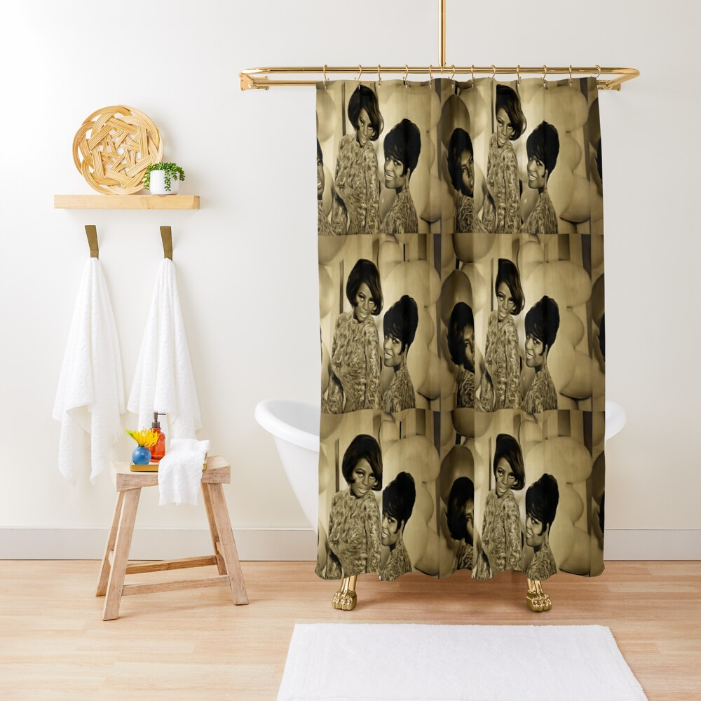 The Supremes in 1967 Shower Curtain