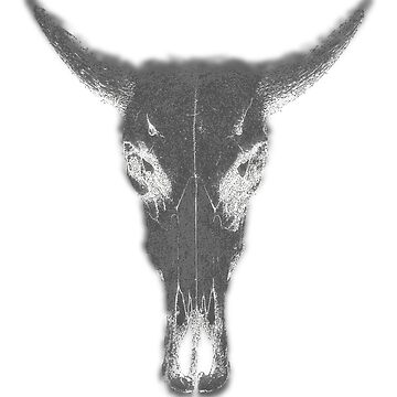 "Bull Skull ""No MOOP"" by pathos-design"