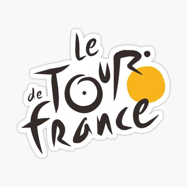Le Tour De France Merchandise Sticker