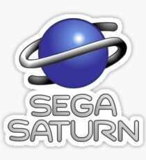 Sega Saturn Merchandise! Sticker