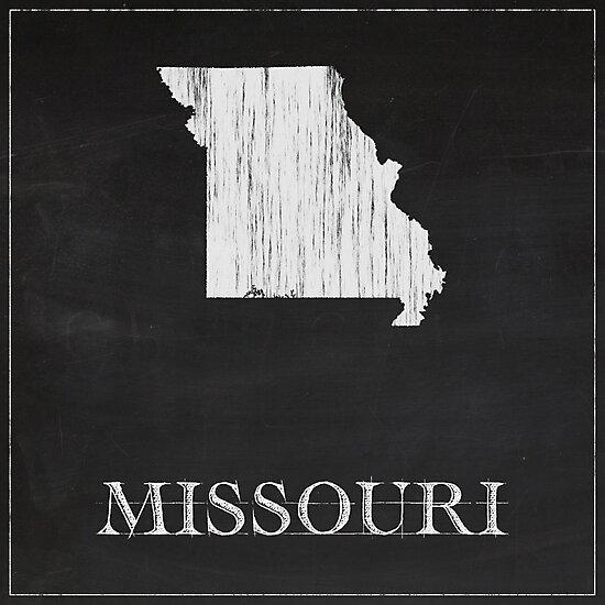 Missouri - Chalk by FinlayMcNevin