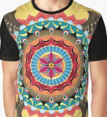 Virgin of Guadalupe Mandala Graphic T-Shirt
