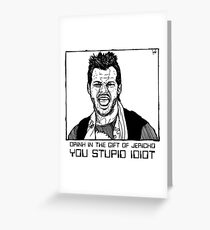 Chris Jericho Greeting Card