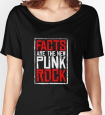 FACTS ARE THE NEW PUNK ROCK (Haz D. Mujica Mono Remix) Women's Relaxed Fit T-Shirt