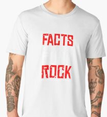 FACTS ARE THE NEW PUNK ROCK (Haz D. Mujica Mono Remix) Men's Premium T-Shirt