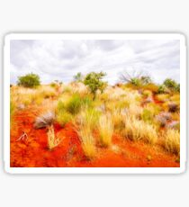 Sand Dunes #3 Of The Red Centre - Australia Sticker