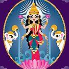 Lakshmi by evilkidart