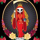 Santa Muerte by evilkidart