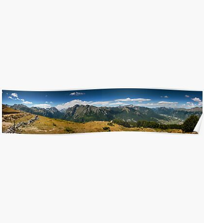 Climbing Vrh Bora Poster