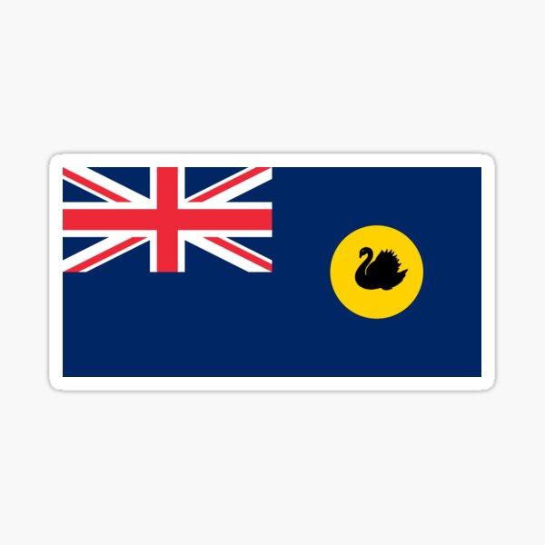 Bandera de australia occidental Pegatina