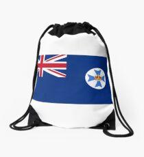 Queensland Flag, Australia Drawstring Bag