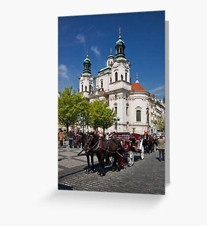 St. Nicholas Church Greeting Card