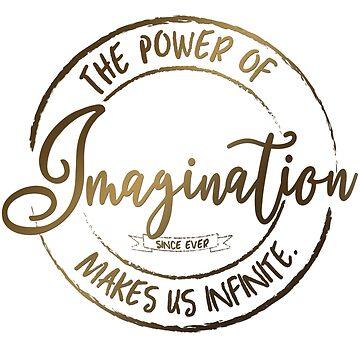 Die Macht der Phantasie ... (Gold) von M-ohlala