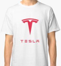 Tesla Motors Inc Logo Classic T-Shirt