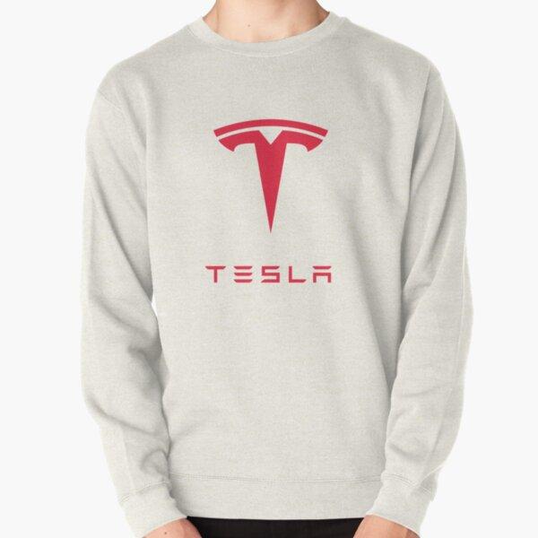 Tesla Motors Inc Logo Pullover Sweatshirt