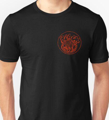 Black Moon chest logo  T-Shirt