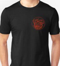 Camiseta unisex Logotipo del cofre Black Moon