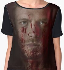Klaus Mikaelson - The Originals Character Poster Chiffon Top