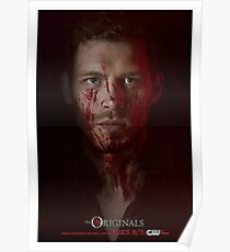 Klaus Mikaelson - The Originals Character Poster Poster