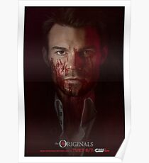 Elijah Mikaelson - The Originals Character Poster Poster