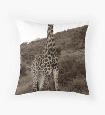 The Safari Series - 'Giraffe' Throw Pillow