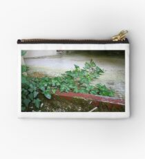 Ivy in abandoned guesthouse 2 Studio Pouch