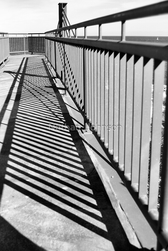 Barrier Shadow by Nathan  Johnson